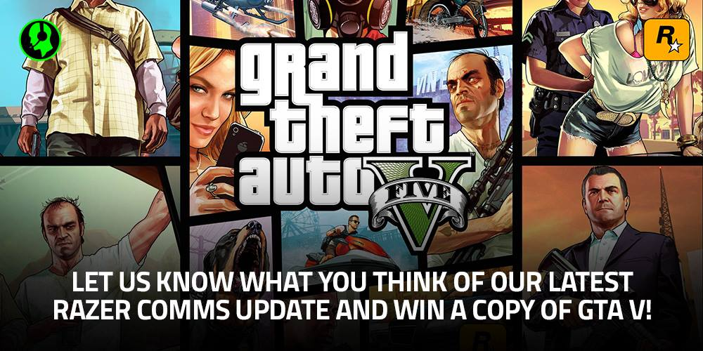 Razer Insider | Forum - [GIVEAWAY OVER] Win a PC copy of GTA V